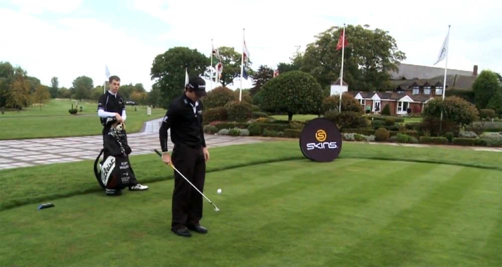 Mcilroys golf shot