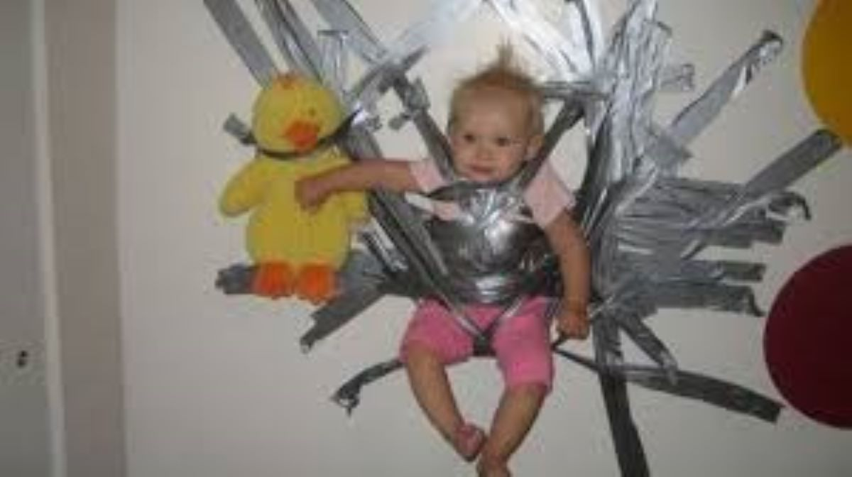 duct tape babysitter, funny duct tape