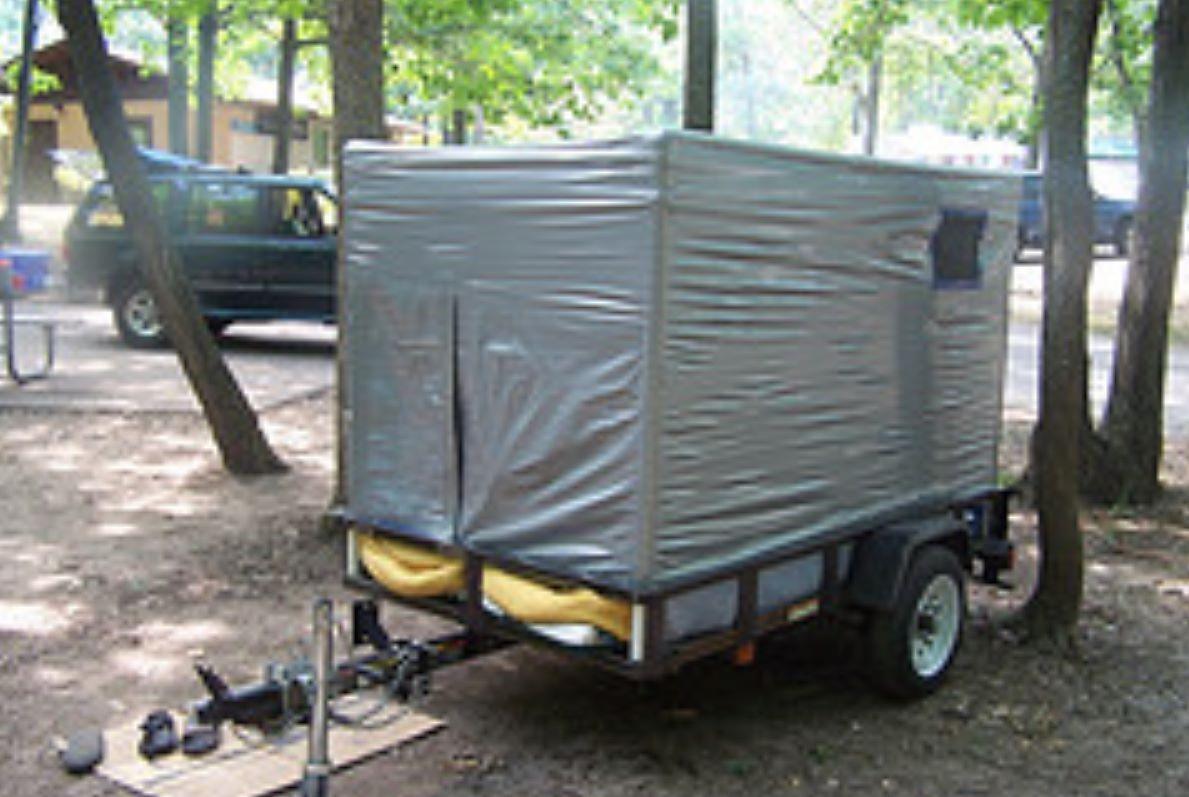 duct tape camper
