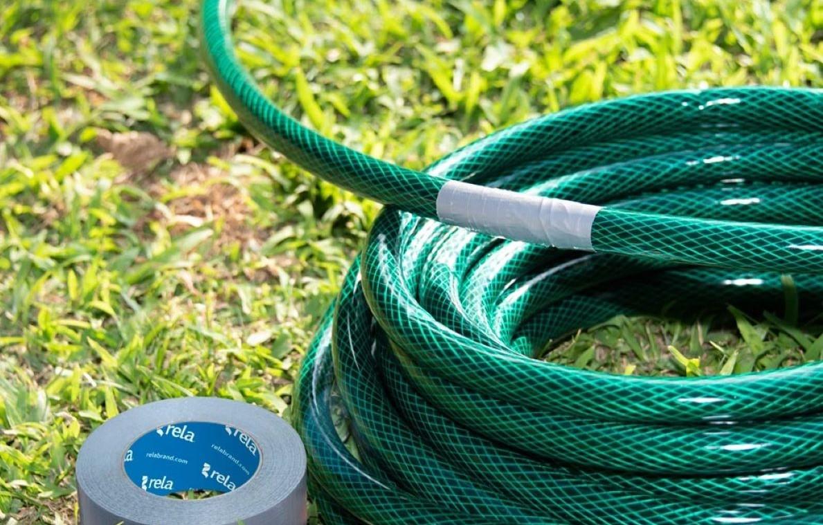 duct tape hose fix