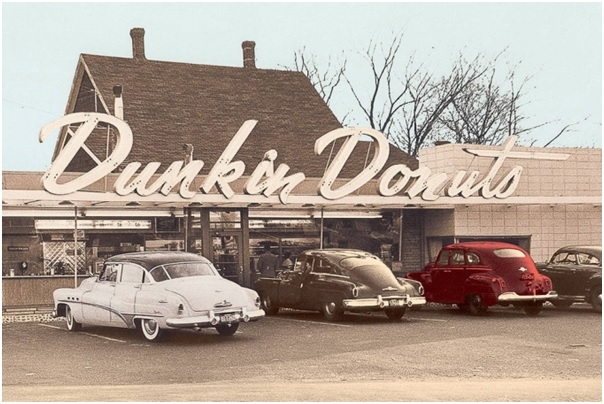 Dunkin Donuts Old