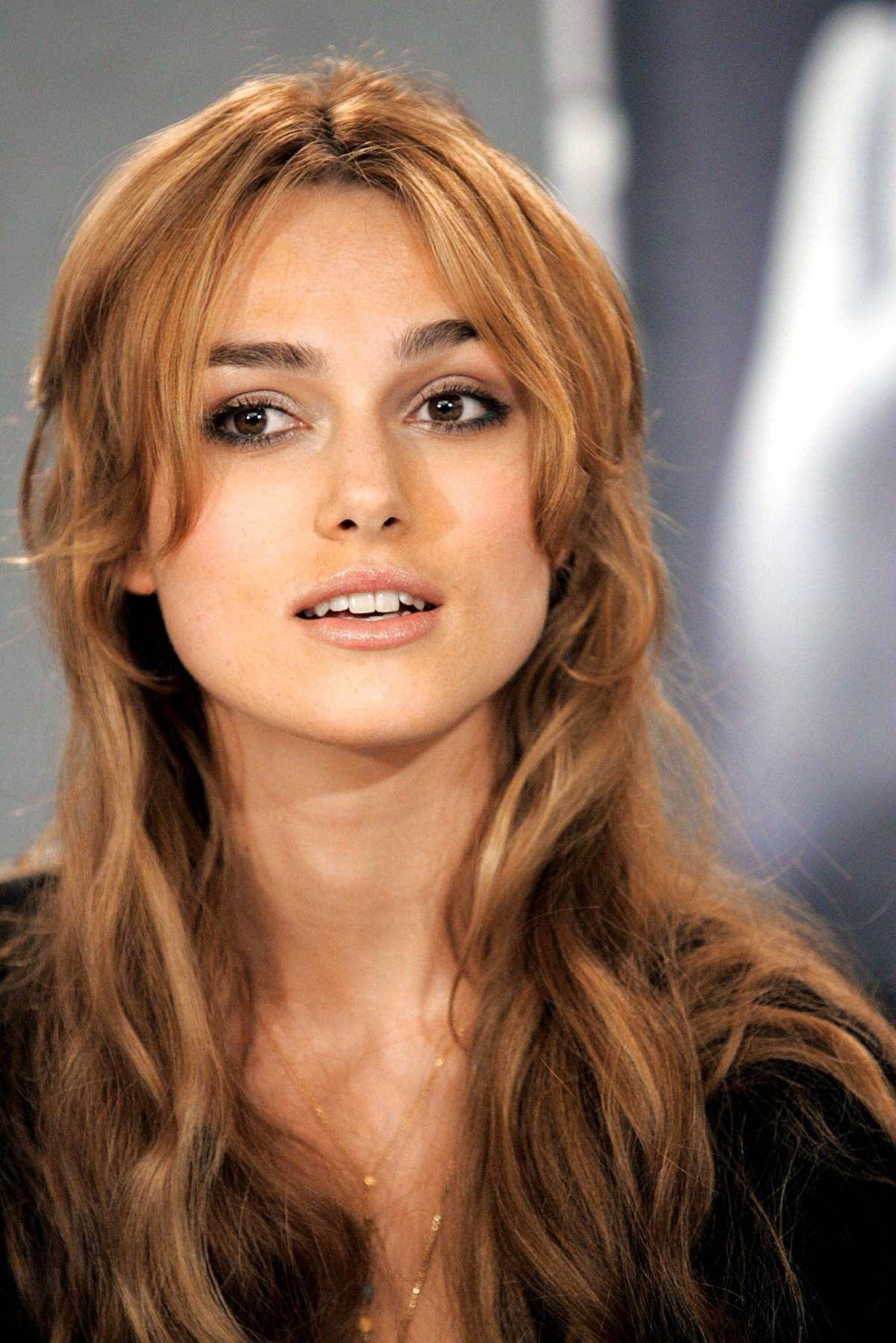 most beautiful woman in the world Kierra Knightley
