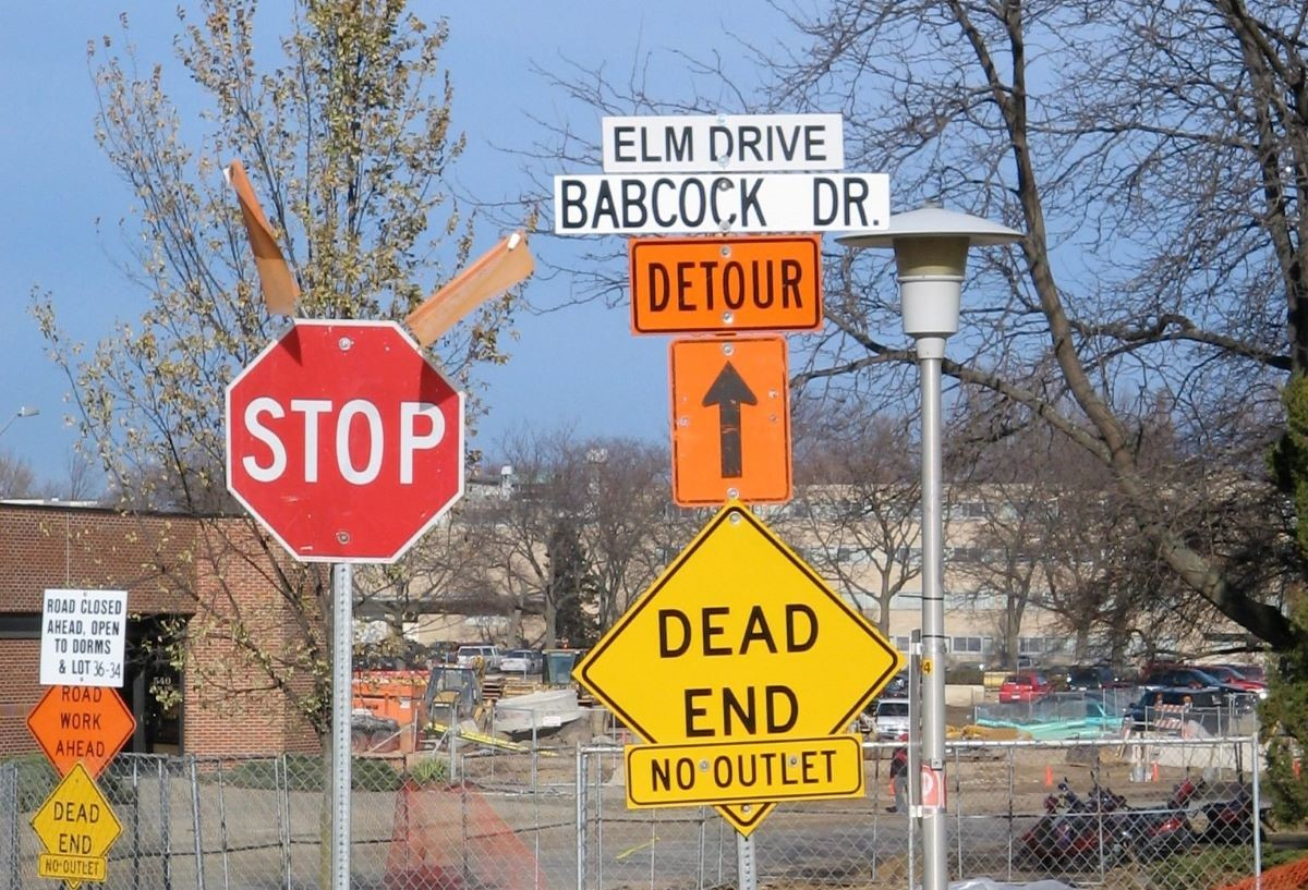 dead end detour