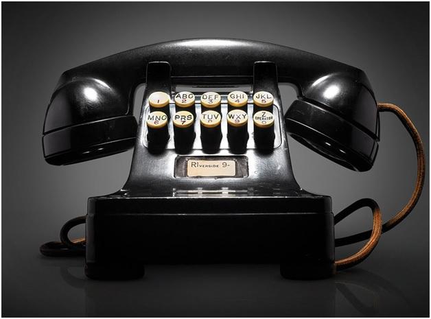 Push-Button Telephone