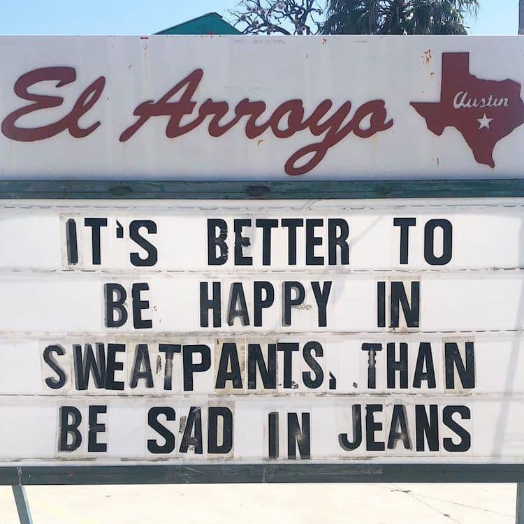 Sad jeans